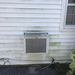 Before and After Power Wash in Glen Ridge
